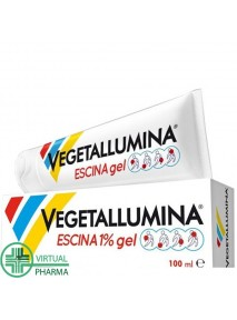 Vegetallumina Escina 1% gel...