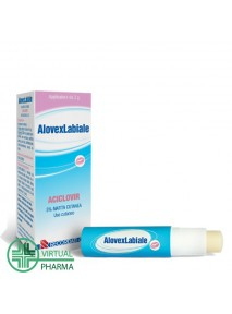 Alovex Labiale 5% Matita...