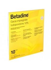 Betadine 10 Garze...