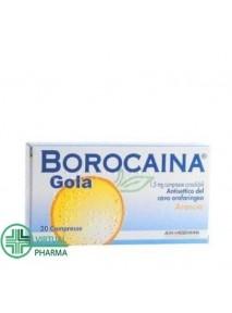 Borocaina Gola 20 Pastiglie...