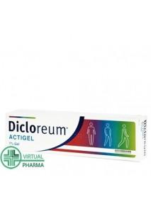 Dicloreum Actigel Gel 50g 1%
