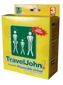 Travel John Urinal Bag 3 Pack