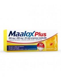 Maalox Plus 50 compresse...