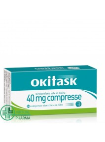 Okitask 40 mg 20 compresse...